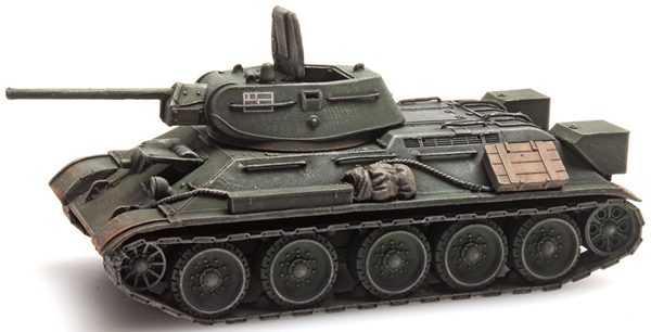 Artitec 6870021 - T34 - 76mm Gun Soviet Army  Green