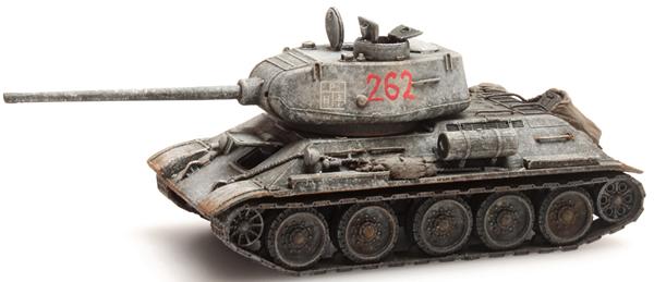Artitec 6870024 - T34 - 85mm Gun Soviet Army Winter