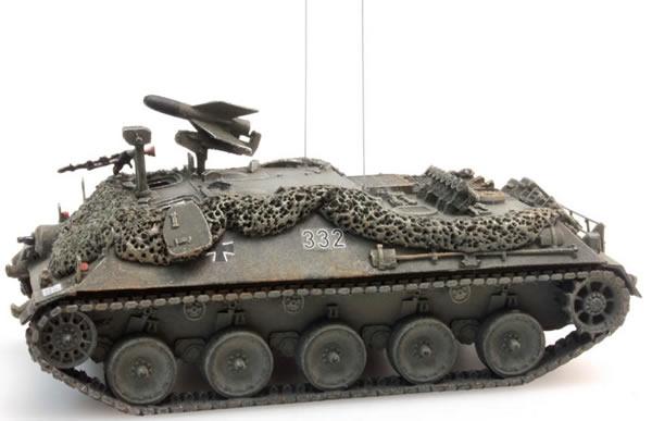 Artitec 6870026 - BRD Missile Tank 2 battle ready yellow-olive paint scheme  Bundeswehr