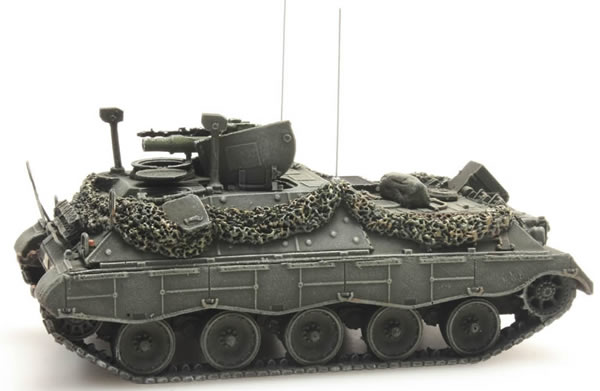 Artitec 6870033 - BRD Jaguar 2 battle ready yellow-olive paint scheme  German Army