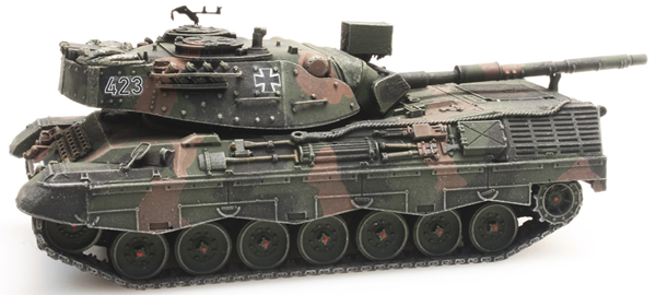 Artitec 6870050 - BRD German Bundeswehr Leopard 1A1-A2 Camouflage Train Load Version