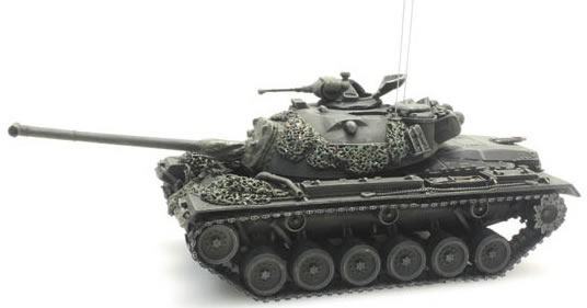 Artitec 6870056 - BRD M48 A2 yellow-olive paint scheme battle ready German Army