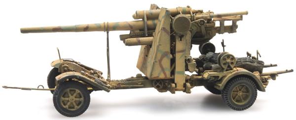 Artitec 6870071 - German Wehrmacht (WWII) 88mm FLAK 18 Tarnung