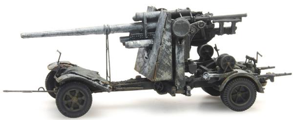 Artitec 6870072 - German Wehrmacht (WWII) 88mm FLAK 18 Winter