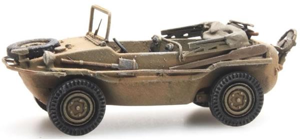 Artitec 6870074 - German Wehrmacht (WWII) Schwimmwagen VW 166 K2s Gelb