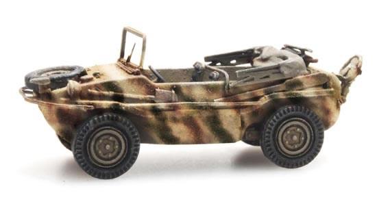 Artitec 6870075 - German Wehrmacht (WWII) Schwimmwagen VW 166 K2s Tarnung