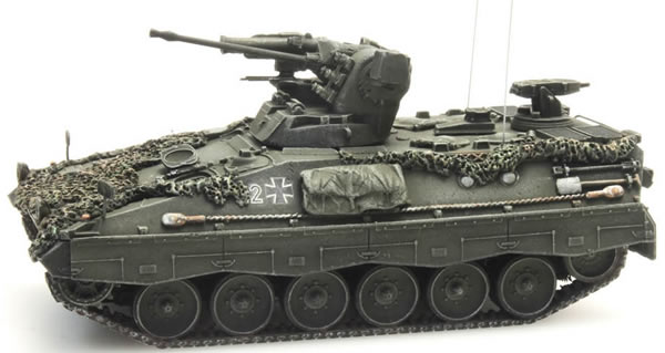 Artitec 6870084 - German Marder A0-A1 Milan Combat ready