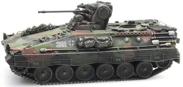 Artitec 6870088 - German Marder A0-A1 camouflage train load