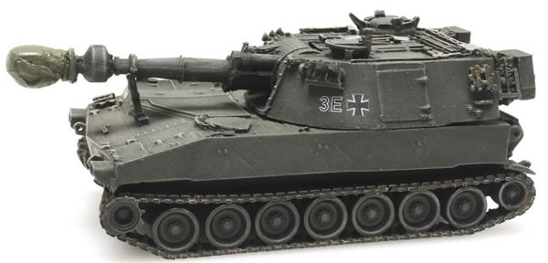 Artitec 6870095 - German M109G yellow-olive train load BW