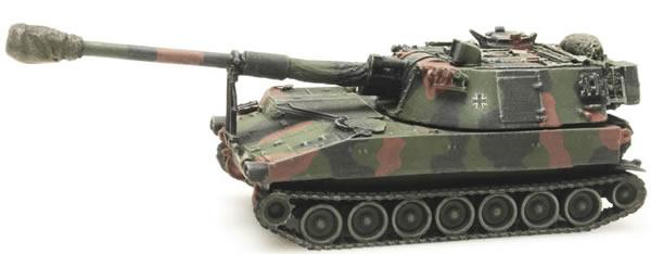 Artitec 6870098 - German M109 A3G Camouflage train load BW
