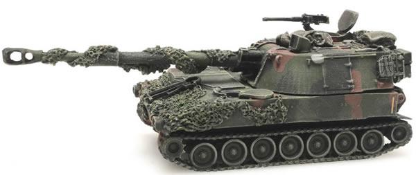 Artitec 6870125 - US M109 A2 camouflage Combat ready