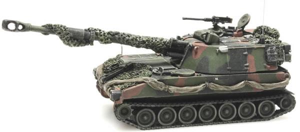 Artitec 6870130 - Dutch M109 A2 camouflage Combat ready