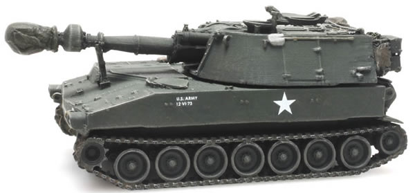 Artitec 6870150 - US M109 A2 camouflage train load