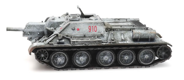 Artitec 6870230 - Russian USSR SU 122 Winter