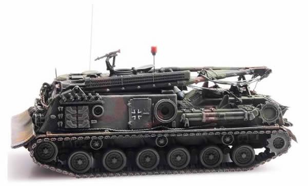 Artitec 6870242 - German BRD M88 ARV Camo Eisenbahntransport