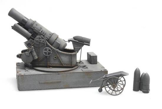 Artitec 6870253 - Skoda 30,5 cm Mörser M1916