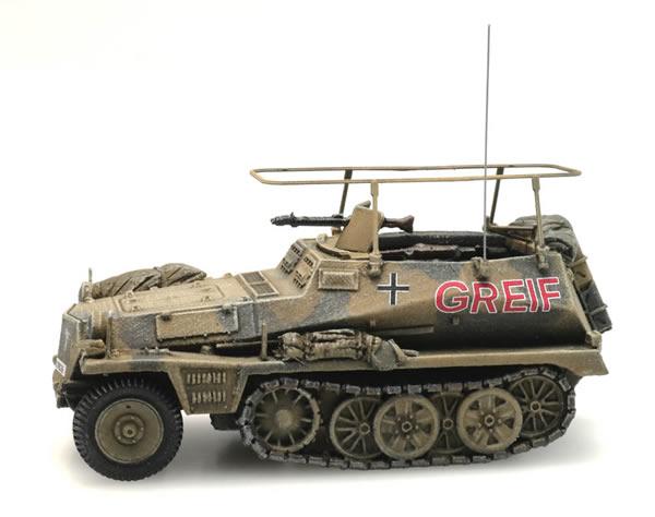 Artitec 6870277 - German Sd.Kfz. 250/3 Afrika GREIF
