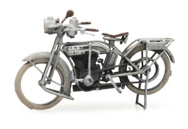 Artitec 6870320 - WWI NSU motorcycle epoch I, military