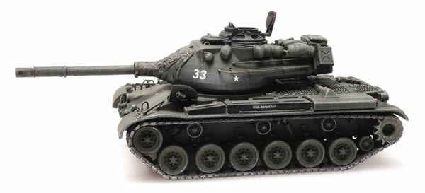 Artitec 6870322 - US M47 Patton Tank Train Load