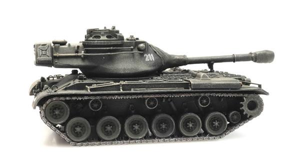 Artitec 6870324 - German BRD M47 Patton Tank Train Load