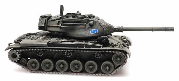 Artitec 6870326 - Italian  M47 Patton Tank Train Load