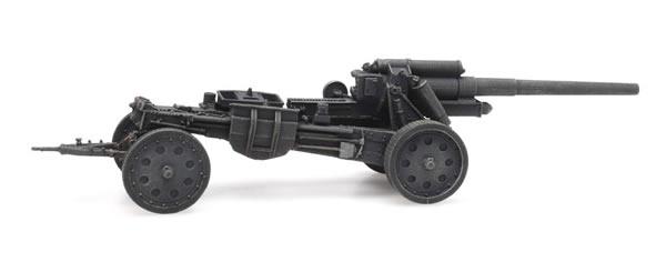 Artitec 6870332 - German WM Feldhowitzer Grau 105mm