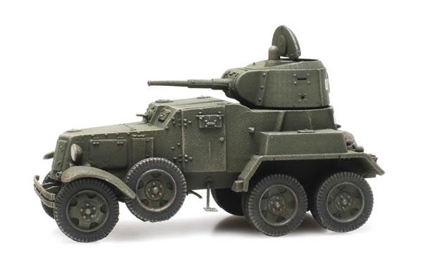 Artitec 6870344 - Russian USSR BA10 Armored Vehicle green
