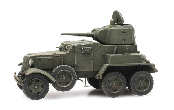 Artitec 6870344 - Russian USSR BA10 Armored Vehicle green