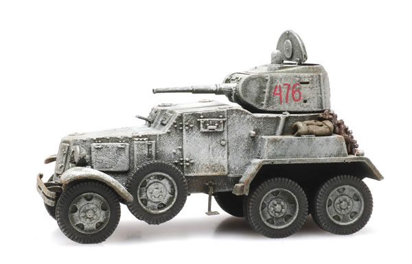 Artitec 6870345 - Russian USSR BA10 Armored Vehicle Winter