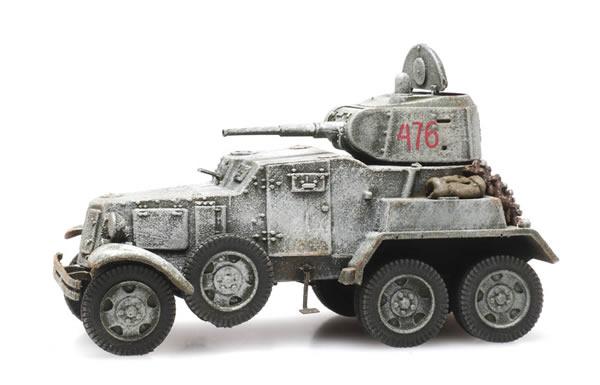 Artitec 6870345 - Russian USSR BA10 Armored Vehicle Winter