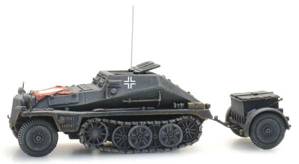 Artitec 6870354 - WM Sdkfz 252 + Sd Anh 32 grau