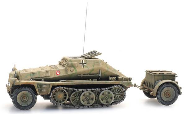 Artitec 6870356 - WM Sdkfz 252 + Sd Anh 32 camo
