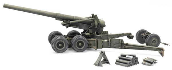 Artitec 6870388 - US 155mm Gun M1 firing