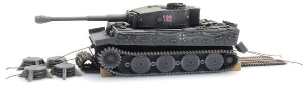 Artitec 6870401 - WM Tiger I grau Eisenbahn