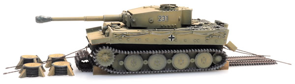 Artitec 6870402 - WM Tiger I gelb Eisenbahn