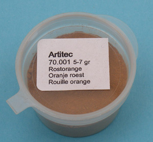 Artitec 70.001 - Mineral Paint Rust-orange (weathering powder)