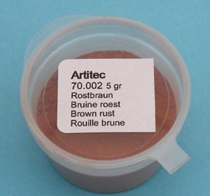 Artitec 70.002 - Mineral Paint Rust-brown (weathering powder)