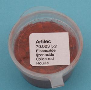 Artitec 70.003 - Mineral Paint Ironoxide red (weathering powder)