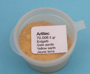 Artitec 70.006 - Mineral Paint Earth-tone yellow (weathering powder)