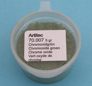 Artitec 70.007 - Mineral Paint Chromoxide-green (weathering powder)