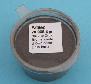 Artitec 70.008 - Mineral Paint Brown Earth-tone (weathering powder)