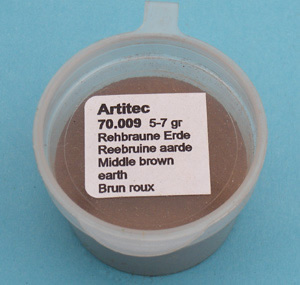 Artitec 70.009 - Mineral Paint Fawn-brown Earth-tone (weathering powder)