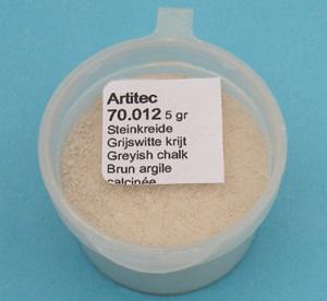 Artitec 70.012 - Mineral Paint Gray-white Chalk Color (weathering powder)