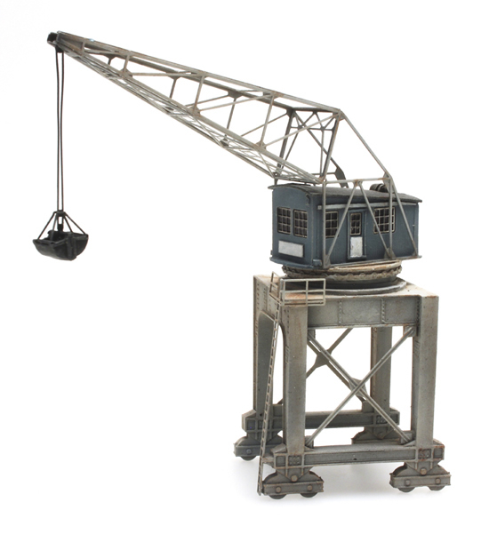 Artitec 7220016 - Harbour crane with grabber