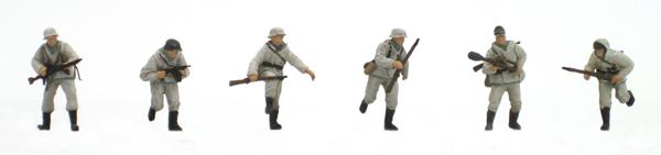 Artitec 87.063 - German infantry set 2 w/ winter uniforms (6 fig)