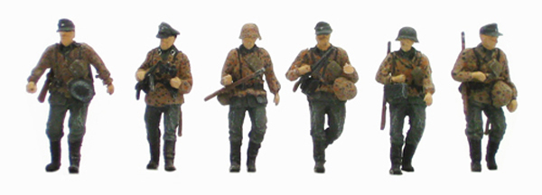 Artitec 87.064 - German infantry set 1 w/ camouflage uniforms (6 fig)