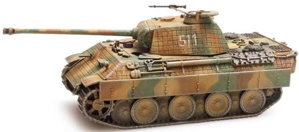 Artitec 87.089 - German Wehrmacht (WWII) Panther ausf. A Zimmerit