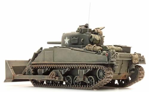 Artitec 387.116-1//87 H0 US Sherman M4 Dozer Tank Neu