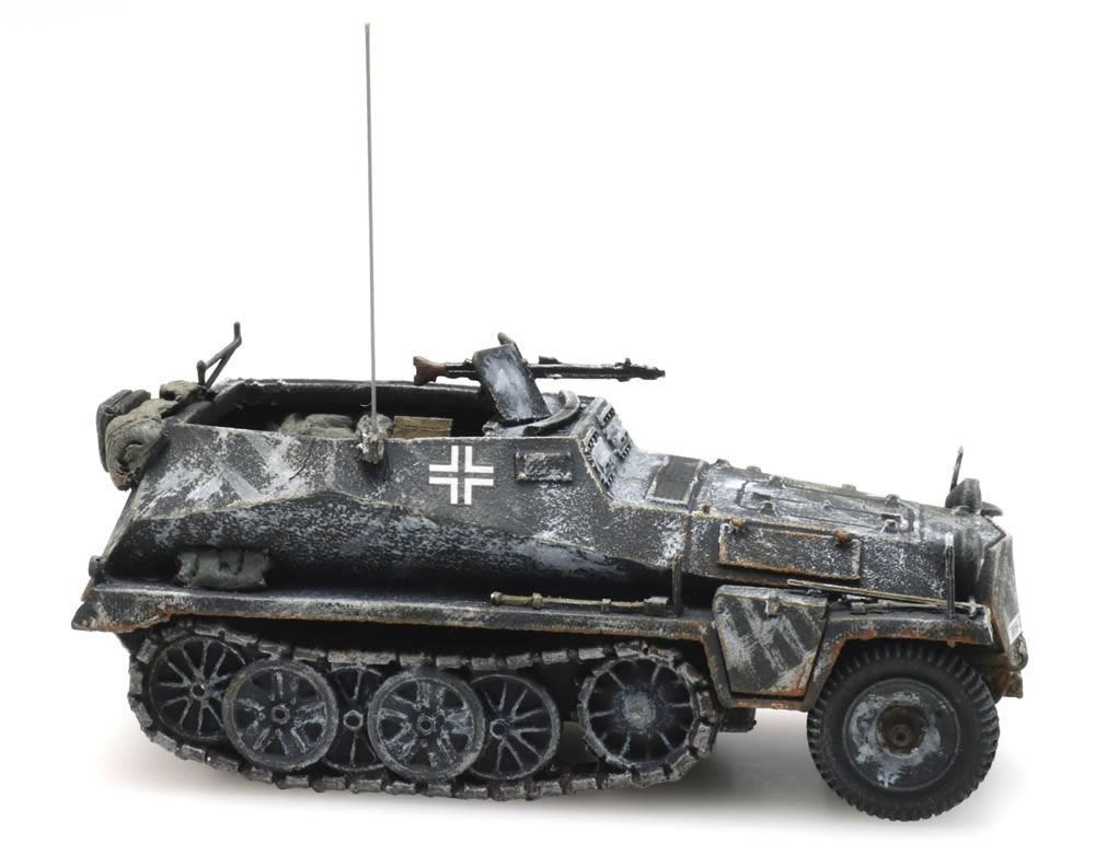 H0 WWII Dt Sd.Kfz Artitec 6870273-1//87 250//1 Winter Neu