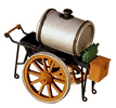 Oil pushcart
